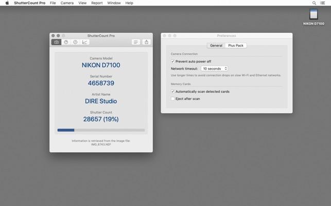 ShutterCount ProV4.0.1 Mac版