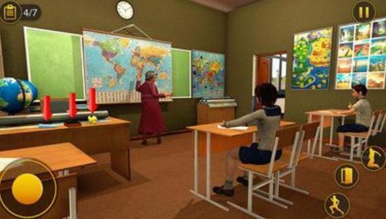 高中老师奶奶模拟器V1.1.1 安卓版
