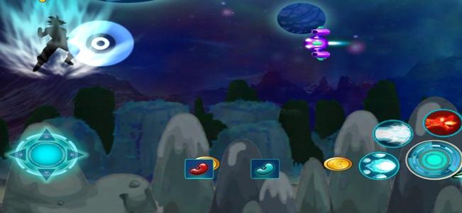 超级龙珠赛亚人战斗V1.0 苹果版