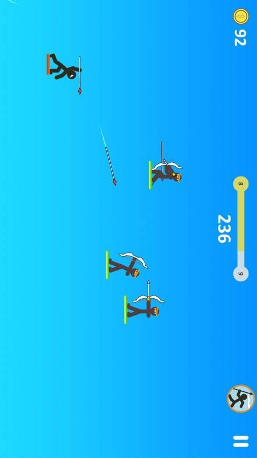火柴人长矛勇士V1.1.0 安卓版