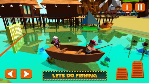 天堂岛工艺:建造与钓鱼V1.0 安卓版