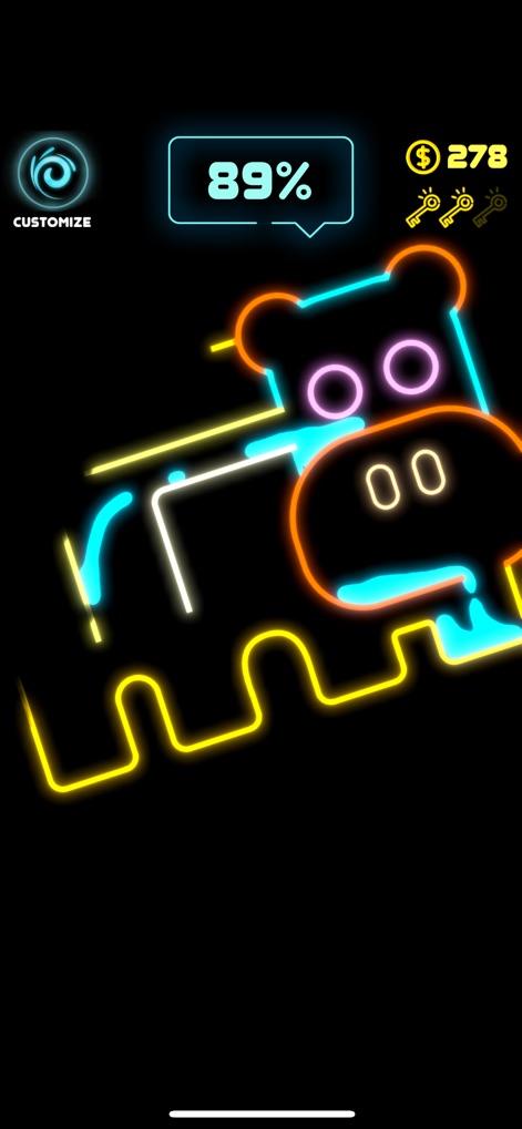 Neon SplashV1.1 苹果版
