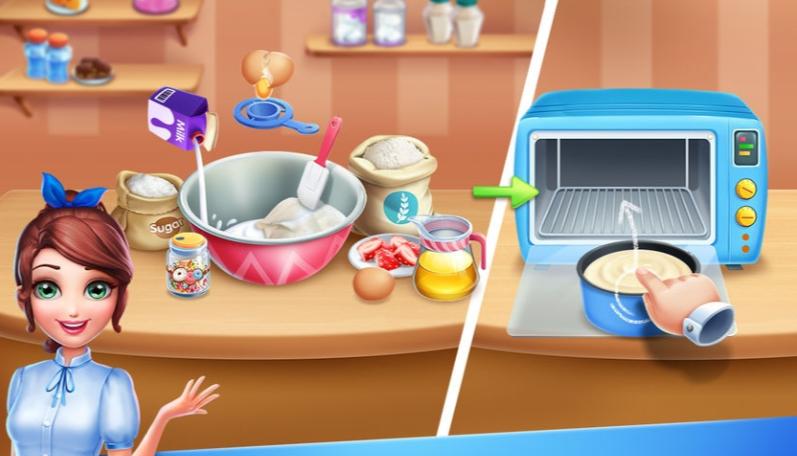 彩虹梦幻蛋糕店V1.0 安卓版
