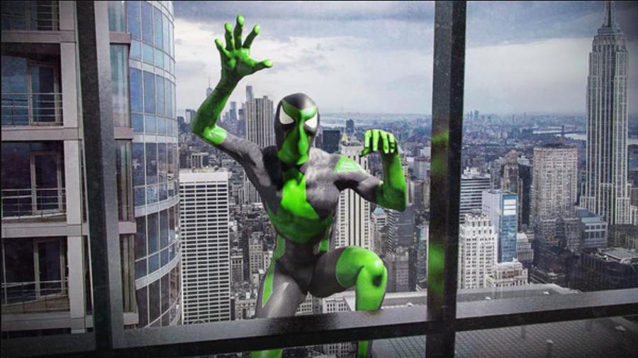 绿色绳索蜘蛛侠V1.9 安卓版