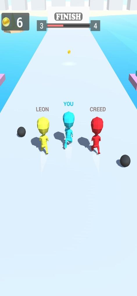 三人�跑V1.0 �O果版