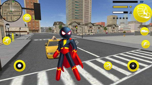 火柴人超能绳索英雄V1.0 安卓版