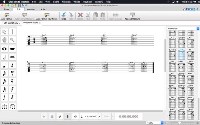 Crescendo ProV4.24 Mac版