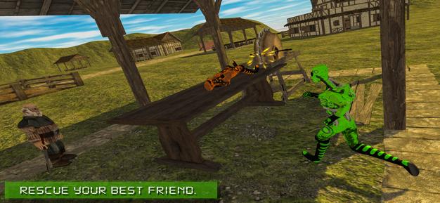 绿区51外星人逃生V1.0 苹果版