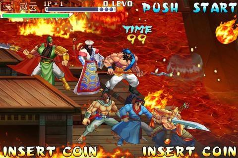 《三国战纪》是街机市场上十分著名的三国动作游戏。台湾的IGS却依然对这种游戏类型情有独钟,并且开发了多款系统相当丰富且颇具爽快感的此类游戏。