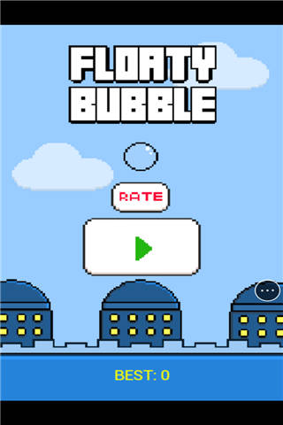 漂浮的泡沫