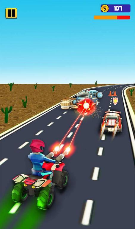 超级赛车手射击战V1.0 安卓版