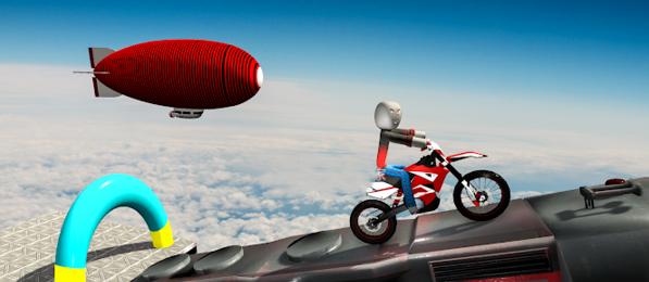 火柴人自行车特技赛车V1.0 安卓版