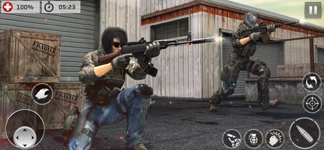 暗杀射击枪手V1.0 苹果版