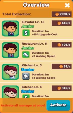 Idle Restaurant TycoonV1.0 苹果版