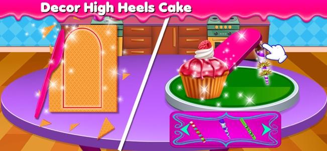 高跟鞋蛋糕机V1.0 苹果版