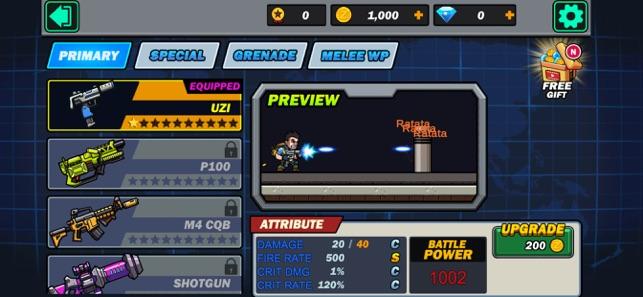 金属突击队子弹枪射击V1.0 苹果版