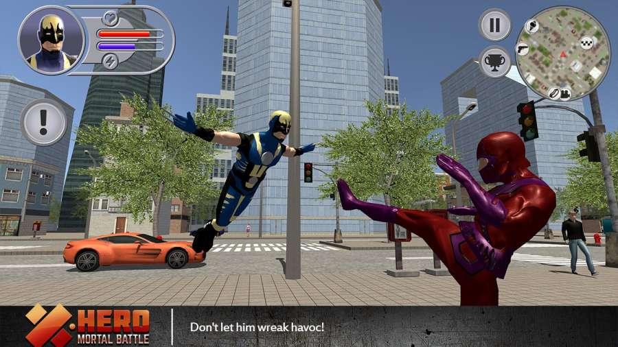 X超侠致命之战V1.0 苹果版