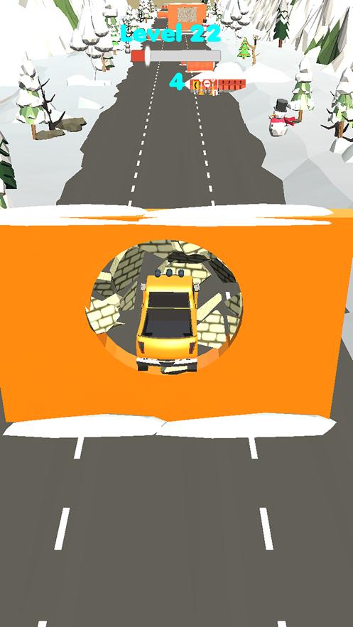 汽车与墙壁V1.0 苹果版
