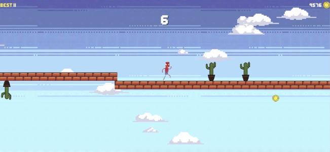 超级勇士们的跑酷V1.0 苹果版