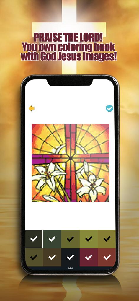 圣经按数字着色V1.0 苹果版