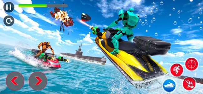 喷气滑雪机器人潜艇战V1.0.1 苹果版