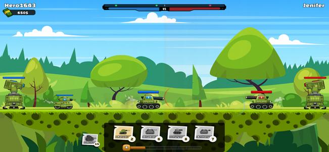 90坦克在线对战V1.0 苹果版