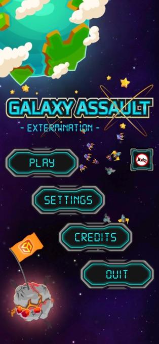 银河突击消灭V1.0 苹果版