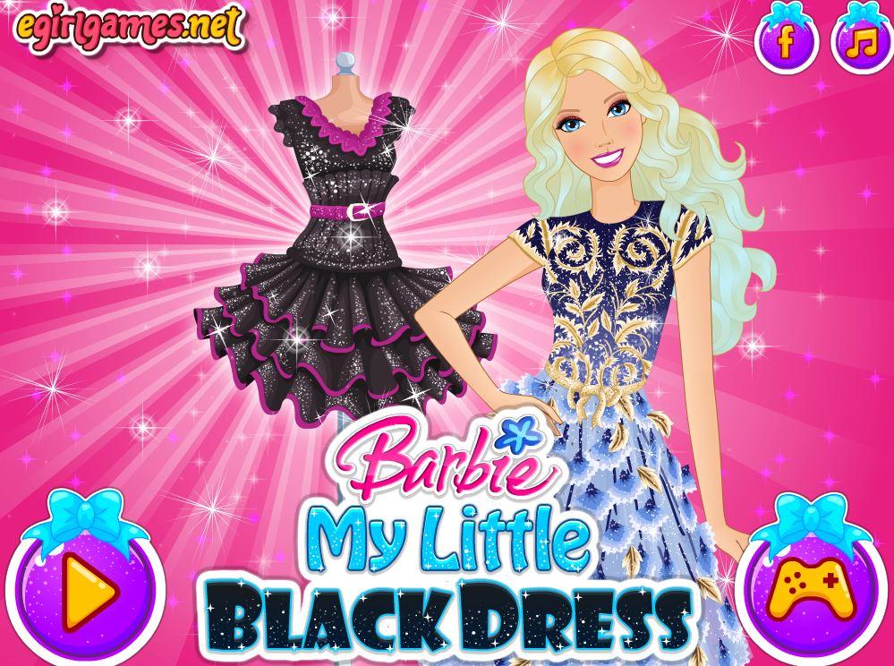 芭比的黑色小礼服
