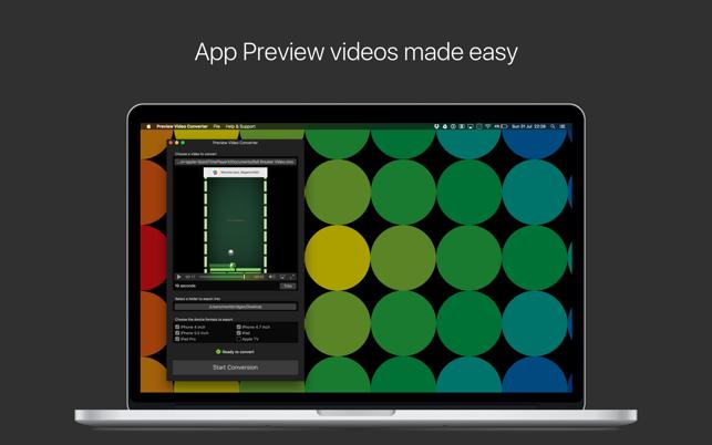 App预览视频转换工具V1.7.3 Mac版