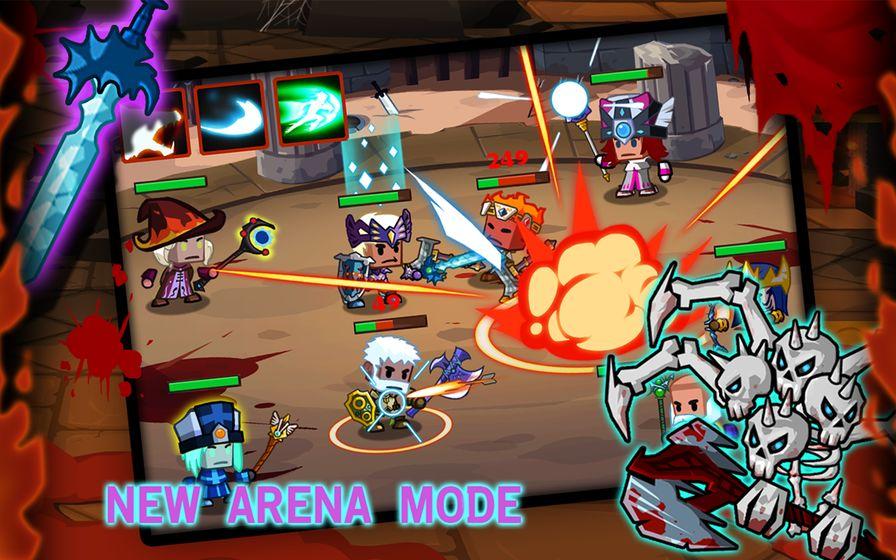 《魔兽战纪 Heroes vs Monsters》是一款史诗奇幻冒险游戏。你要控制你的4个英雄去对抗这些怪兽!每个英雄都有自己独特的技能!超过200件盔甲和武器等着你收集!让你变得更加强大~去消灭那些怪兽吧!