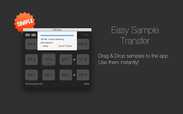 SDS DropV1.5.1 Mac版