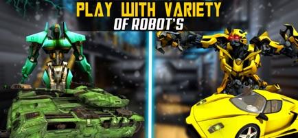 机器人汽车改造战争V1.0 苹果版