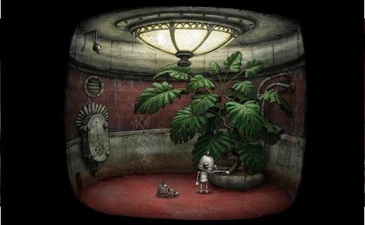 【关于PC版机械迷城】《机械迷城》是由捷克独立开发小组Amanita Design设计制作的一款AVG冒险PC游戏。本游戏在2009年独立游戏节上获得了视觉艺术奖。游戏将采用传统点击式界面,和Samorost游戏相似,2D背景和人物,没有对白。