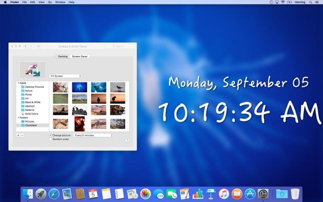 ClockDeskV1.5 MAC版