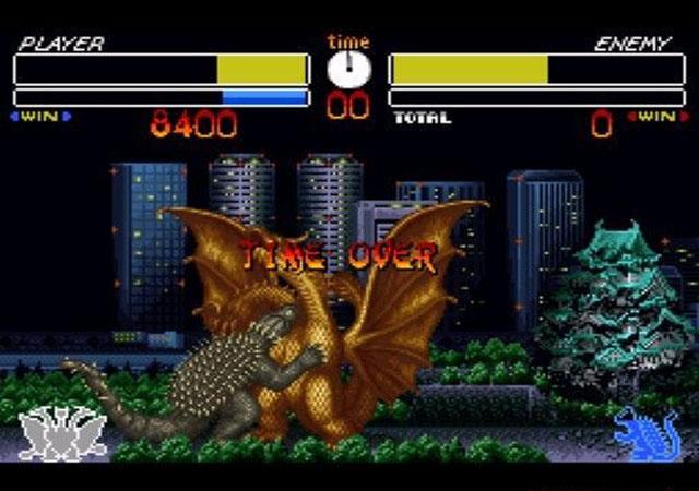 哥吉拉怪兽大决战日版