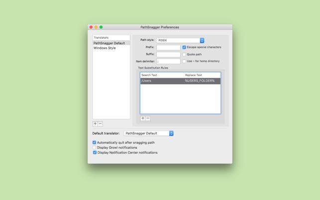 PathSnagger 2V2.1.2 Mac版