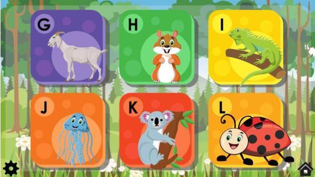 带动物拼图的ABCV1.0 安卓版