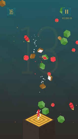 刀子水果挑战V1.0 苹果版