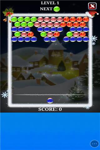 圣诞节泡泡龙