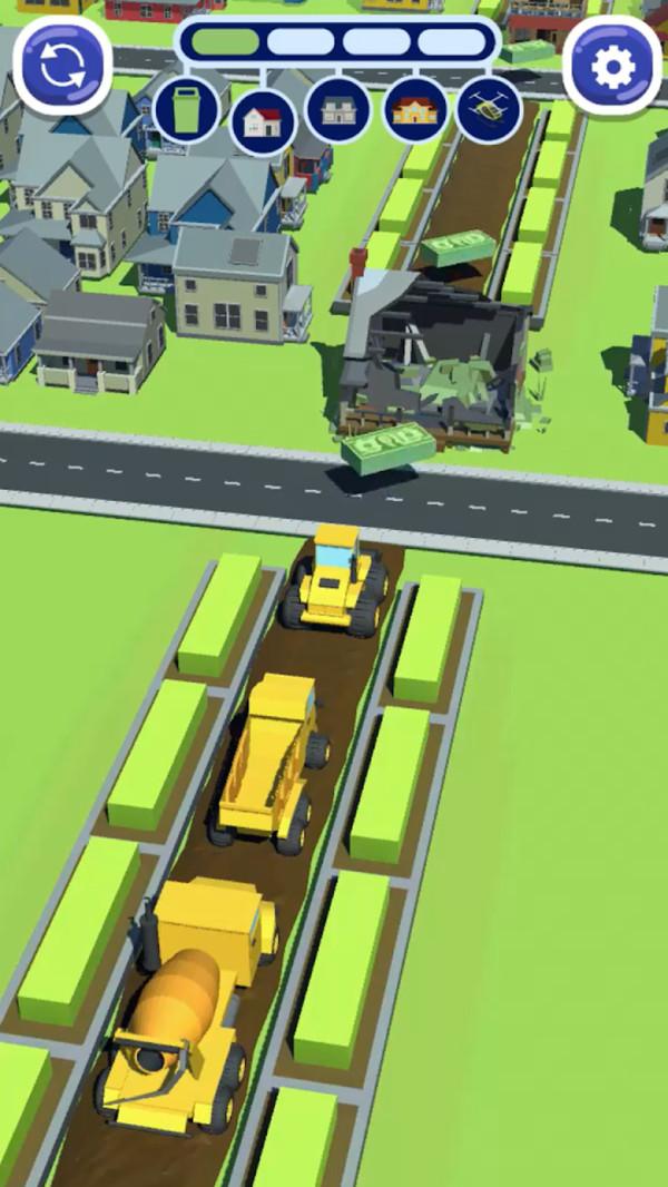 模拟城市推土机V1.0 安卓版