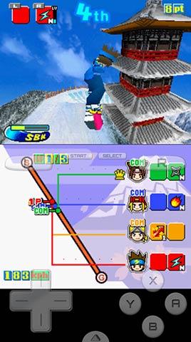 滑雪少年DS移植版