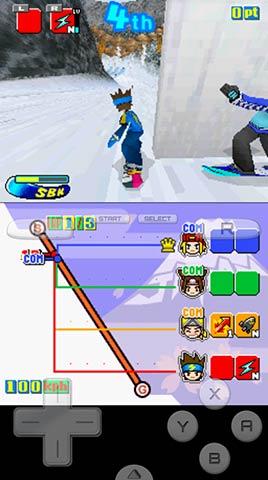 滑雪少年DS无限版