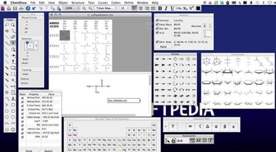 ChemDraw Pro(化学反应方程式编辑器软件)V16.0 绿色版