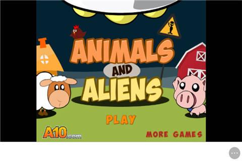 小动物和外星人