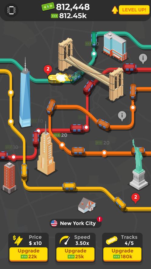 空闲地铁v1.0 苹果版