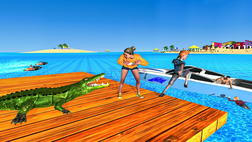 愤怒的鳄鱼恐怖袭击v1.0 苹果版