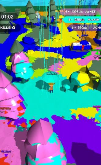 染色雨伞大乱斗V1.0 安卓版