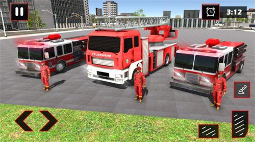 消防车城市救援苹果版