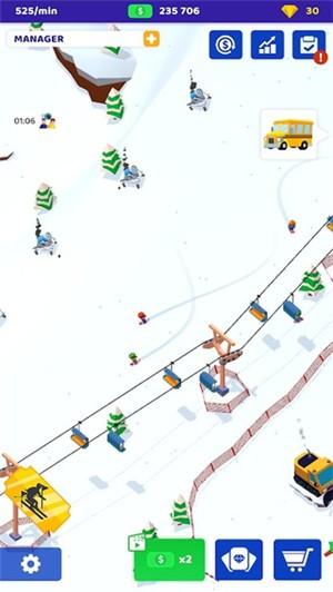 空闲滑雪大亨手机版