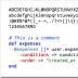 Droid Sans Mono编程字体
